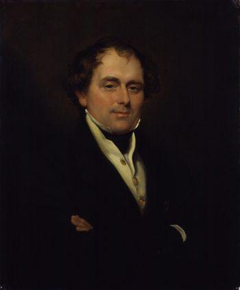 Thomas Waghorn | Sir George Hayter | oil painting