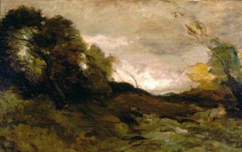 Valley Solitaire | Jean Baptiste Camille Corot | oil painting