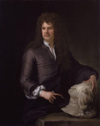 Grinling Gibbons | Sir Godfrey Kneller | oil painting