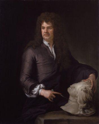 Grinling Gibbons | Sir Godfrey Kneller | oil painting