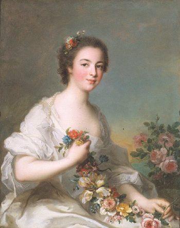 Portrait of a Lady | Jean Marc Nattier | oil painting