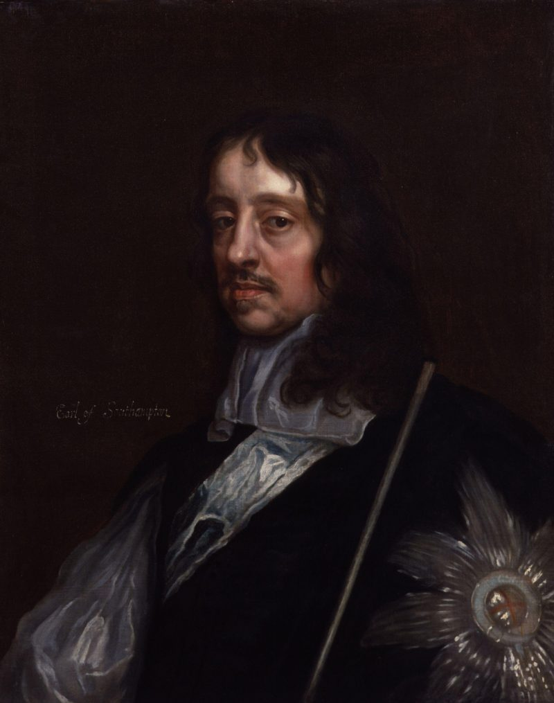 Thomas Wriothesley 4th Earl of Southampton | Sir Peter Lely | oil painting