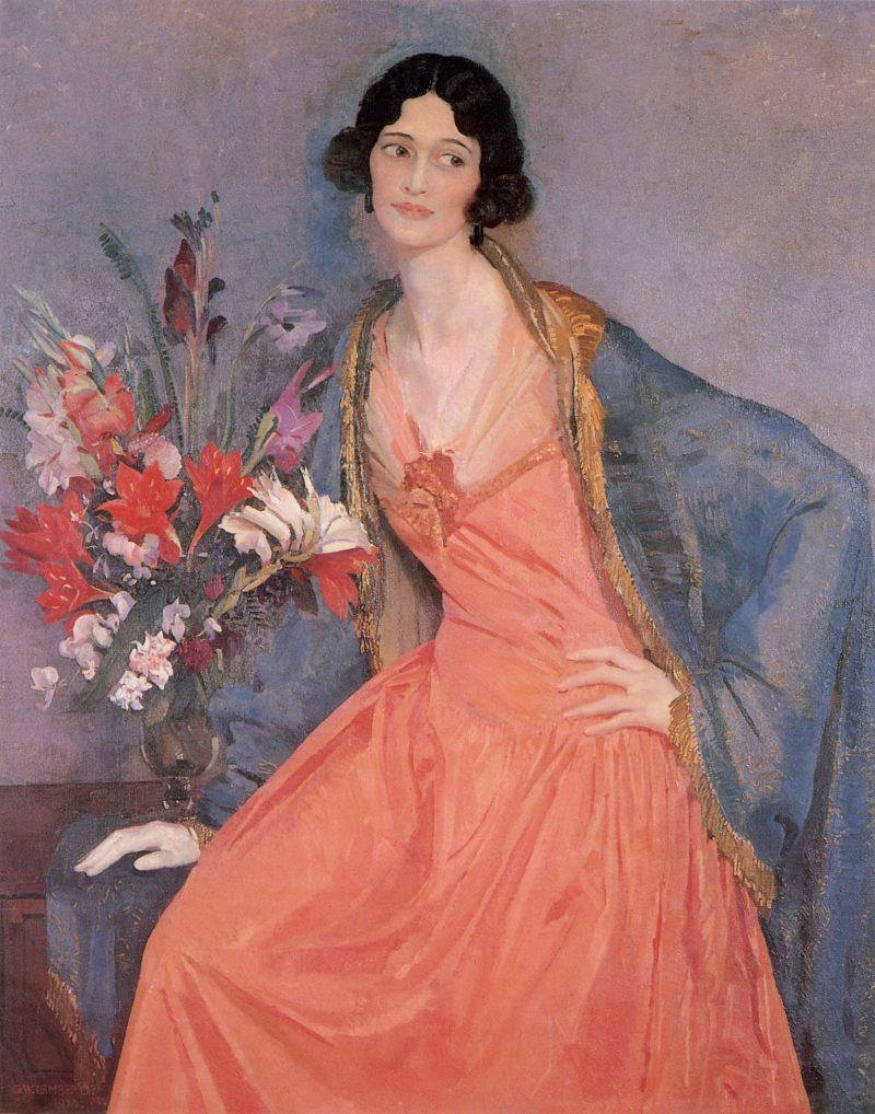 Hera   George Lambert   oil painting