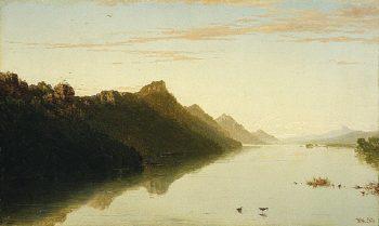 Upper Mississippi | John Frederick Kensett | oil painting