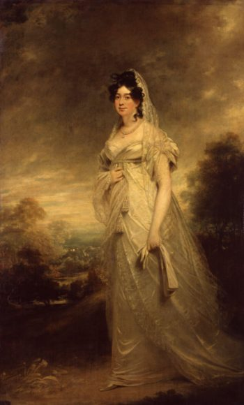Harriot Mellon Duchess of St Albans | Sir William Beechey | oil painting