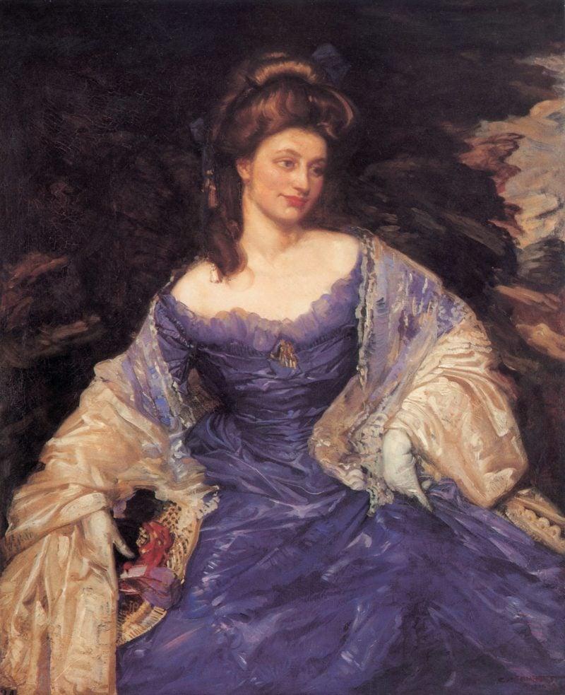 Miss Katherine Powell | George Lambert | oil painting