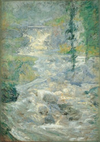 The Rainbows | John Henry Twachtman | oil painting