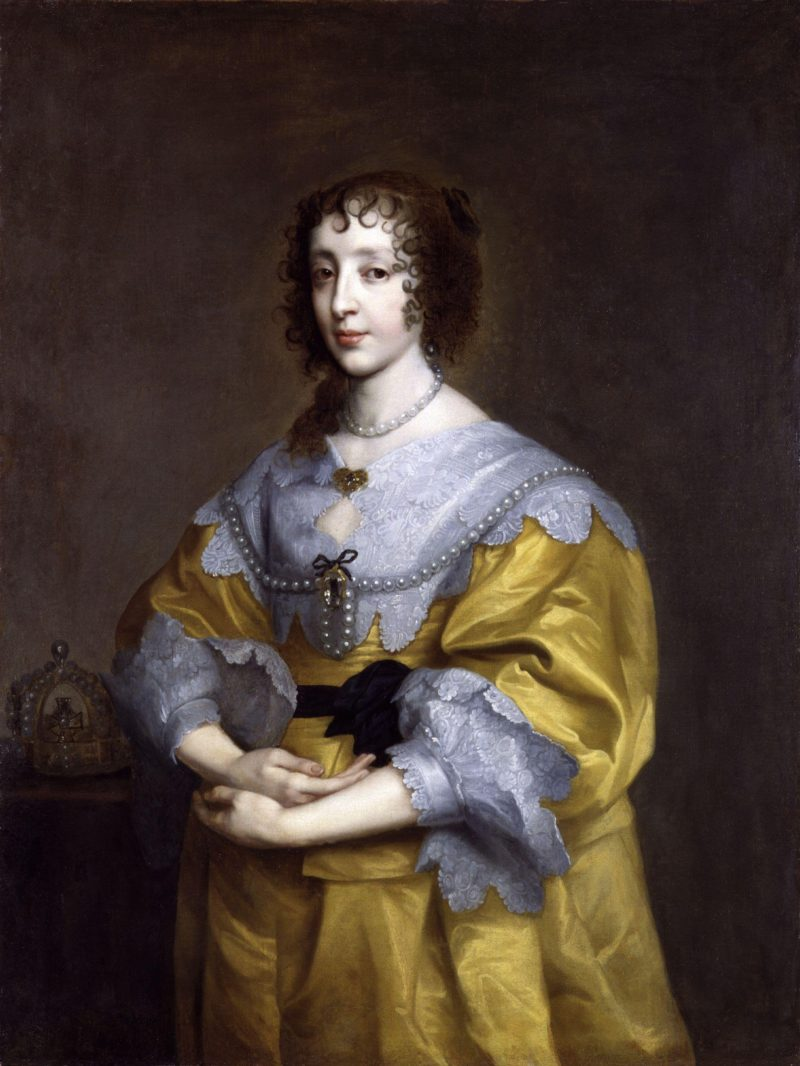 Henrietta Maria | Sir Anthony Van Dyck | oil painting