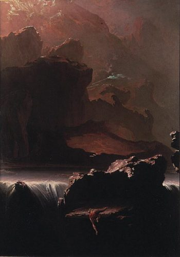 Sadak in Search of the Waters of Oblivion | John Martin | oil painting
