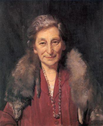 Mrs Annie Murdoch | George Lambert | oil painting
