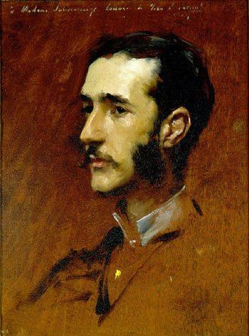 Ramon Subercaseaux | John Singer Sargent | oil painting