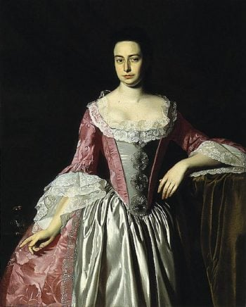 Eunice Dennie Burr | John Singleton Copley | oil painting