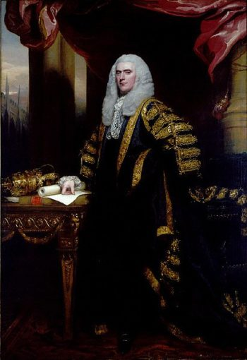 Henry Addington First Viscount Sidmouth | John Singleton Copley | oil painting