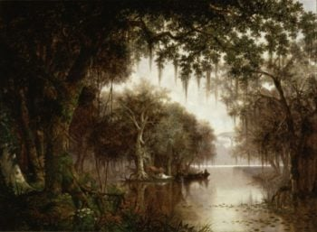 The Land of Evangeline | Joseph Rusling Meeker | oil painting