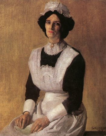The Maid | George Lambert | oil painting
