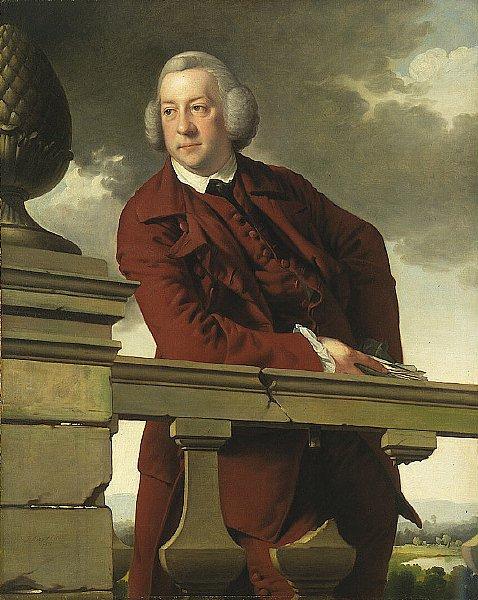 Mr. Robert Gwillym   Joseph Wright   oil painting