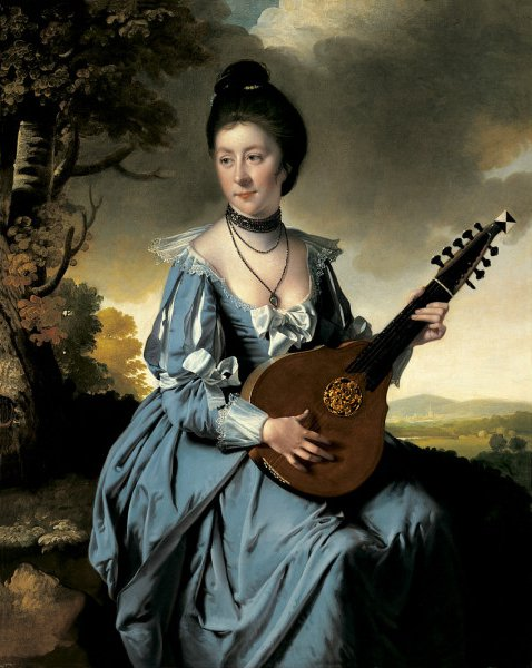 Mrs. Robert Gwillym | Joseph Wright | oil painting