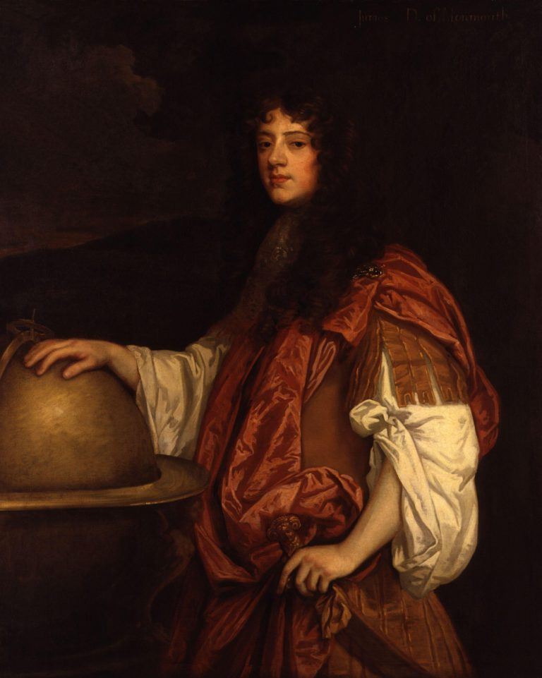 James Scott Duke of Monmouth and Buccleuch   Sir Peter Lely   oil painting