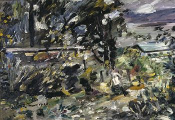 Walchensee Silverway | Lovis Corinth | oil painting