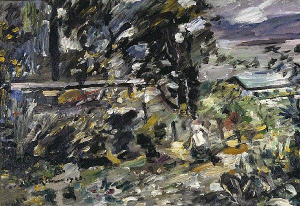 Walchensee Silverway | Lovis Corinth | oil painting
