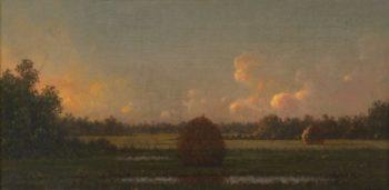 Haystacks | Martin Johnson Heade | oil painting