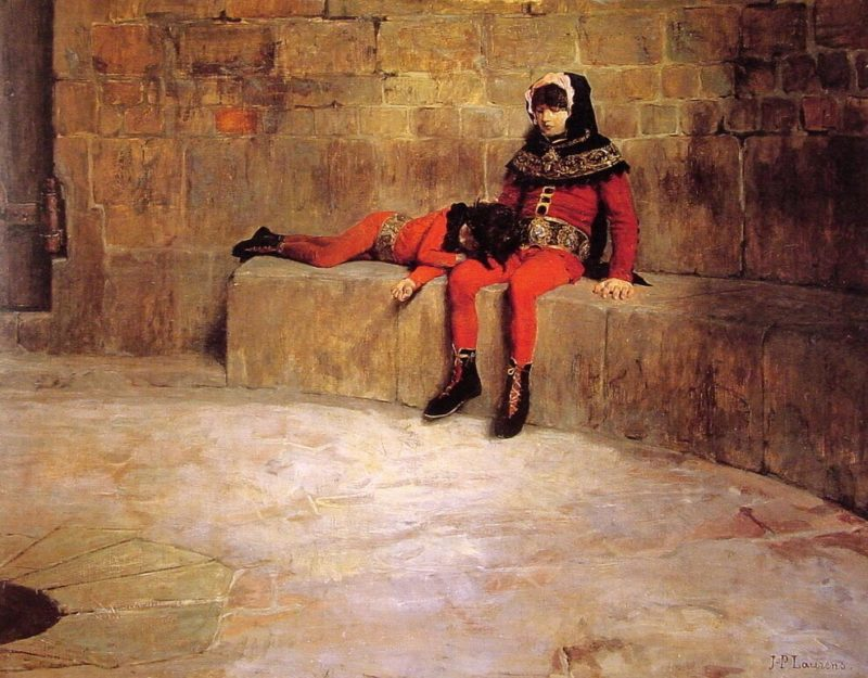 Hostages | Jean Paul Laurens | oil painting