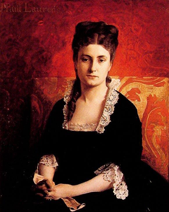 Portrait of a Woman | Jean Paul Laurens | oil painting