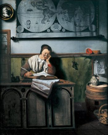 The Account Keeper | Nicolaes Maes | oil painting