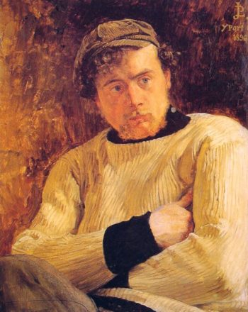 Portrait of Jean Pierre Laurens | Jean Paul Laurens | oil painting