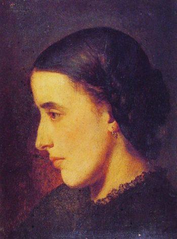 Portrait of Madeleine Villemsens | Jean Paul Laurens | oil painting