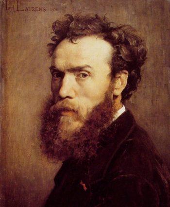 Self portrait | Jean Paul Laurens | oil painting