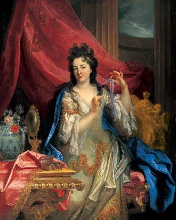 Portrait of a Woman | Nicolas de Largilli | oil painting