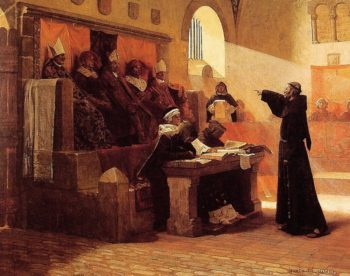 The Agitator of Languedoc | Jean Paul Laurens | oil painting