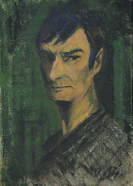 Self Portrait | Otto Mueller | oil painting