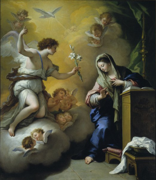 The Annunciation | Paolo de Matteis | oil painting