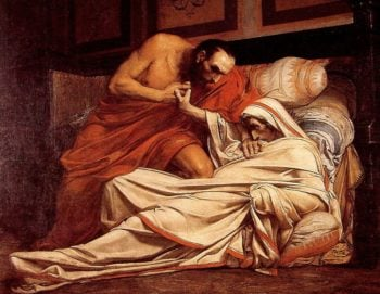 The Death of Tiberius | Jean Paul Laurens | oil painting