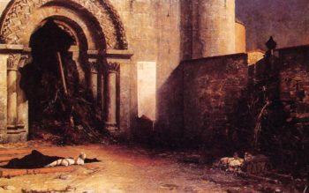 The Interdict | Jean Paul Laurens | oil painting