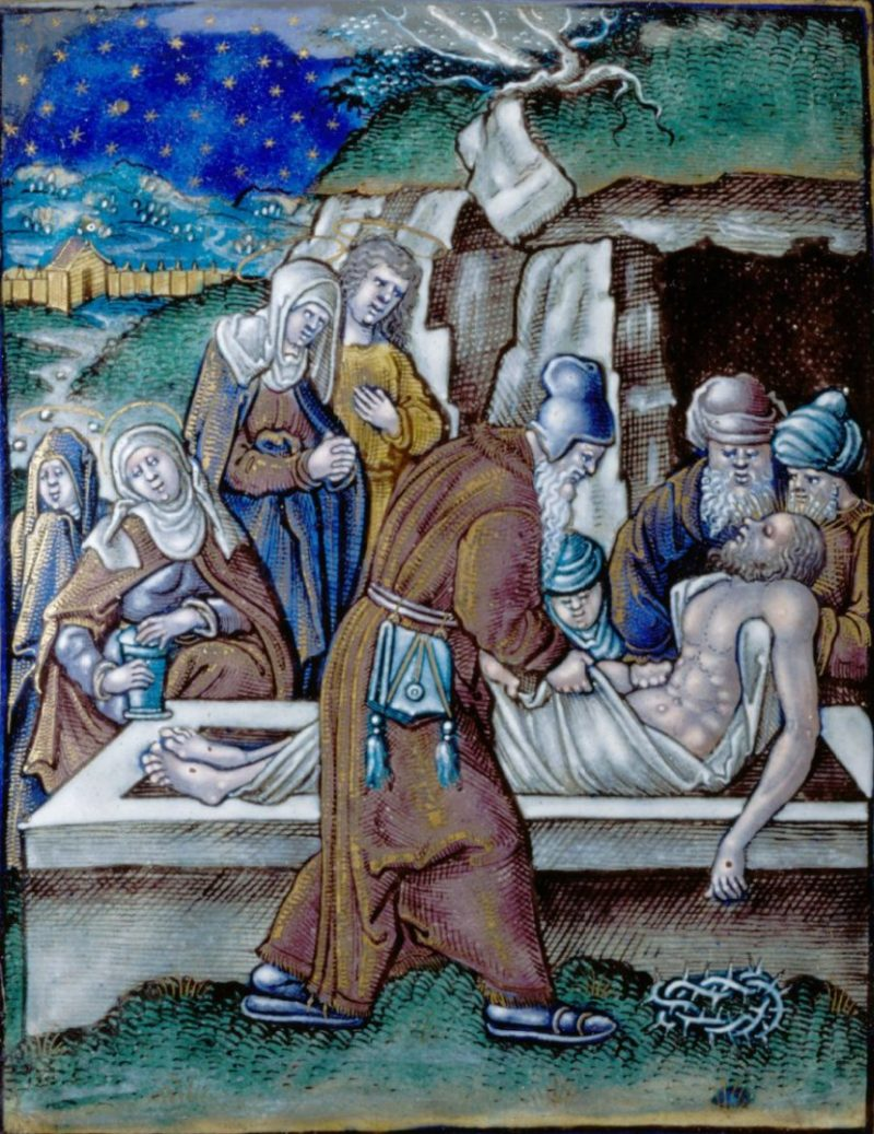 Deposition of Christ | Pierre II Veyrier | oil painting