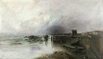 Dia nublado | Jose Navarro llorens | oil painting