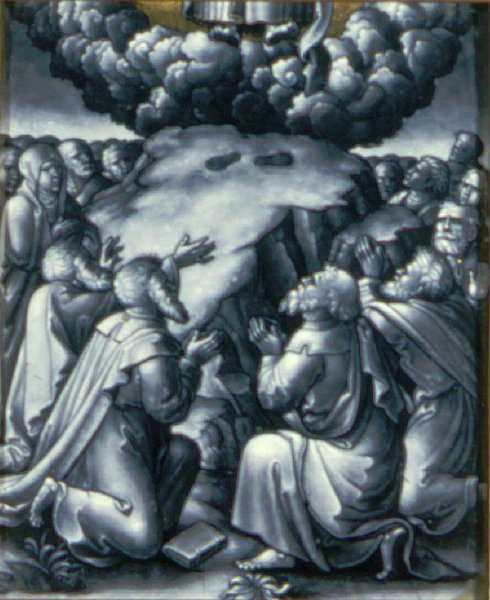 Ascension of Christ   Pierre Reymond   oil painting
