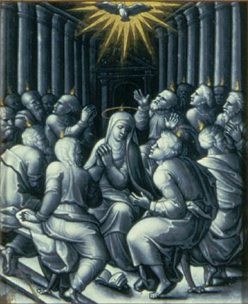Pentecost | Pierre Reymond | oil painting
