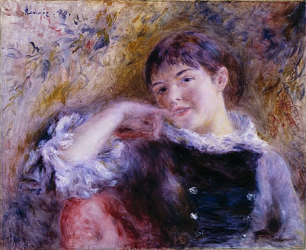 The Dreamer | Pierre Auguste Renoir | oil painting