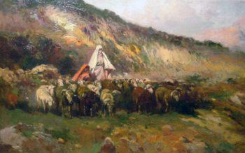 Pasture | Jose Navarro llorens | oil painting