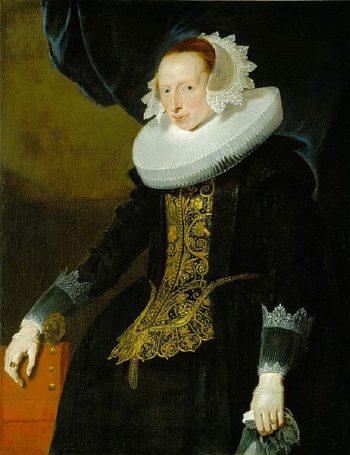 Portrait of a Woman | Pieter Claesz Soutman | oil painting