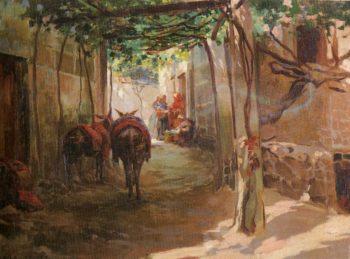 El Camino | Julio Vila Prades | oil painting