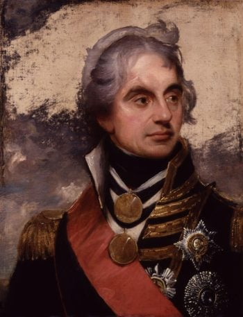 Horatio Nelson Viscount Nelson | Sir William Beechey | oil painting
