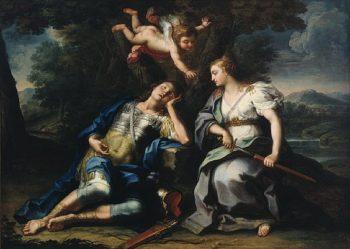 Rinaldo and Armida | Unknown Artist | oil painting