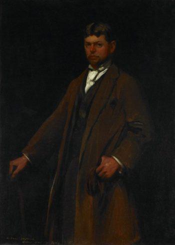 Portrait of Carl Gustav Waldeck | Robert Henri | oil painting