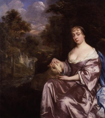 Elizabeth Countess of Grammont | Sir Peter Lely | oil painting