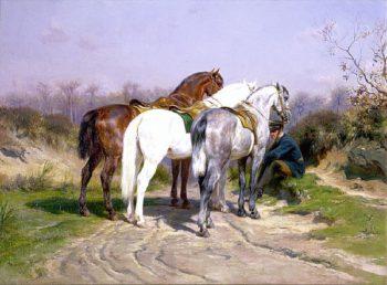 Relay Hunting | Rosa Bonheur | oil painting